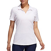 adidas Women's Ultimate365 Spacedye Stripe Golf Polo