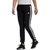 adidas Women's Essentials Single Jersey 3-Stripes Jogger Pants