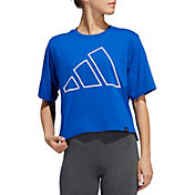 adidas Women's The Pack Universal Graphic Cropped T-Shirt