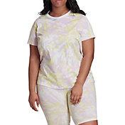 adidas Woman's Tie-Dye Short Sleeve T-Shirt