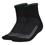 adidas Women's Superlite Quarter Socks 2 Pack