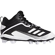 adidas Kids' Icon 6 MD Mid Baseball Cleats
