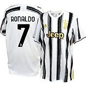adidas Youth Juventus '20 Cristiano Ronaldo #7 Home Replica Jersey