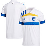 adidas Youth San Jose Earthquakes '20 Secondary Replica Jersey