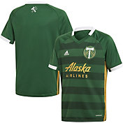 adidas Youth Portland Timbers '19 Primary Replica Jersey