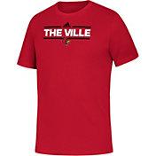 adidas Youth Louisville Cardinals Cardinal Red Local Amplifier T-Shirt