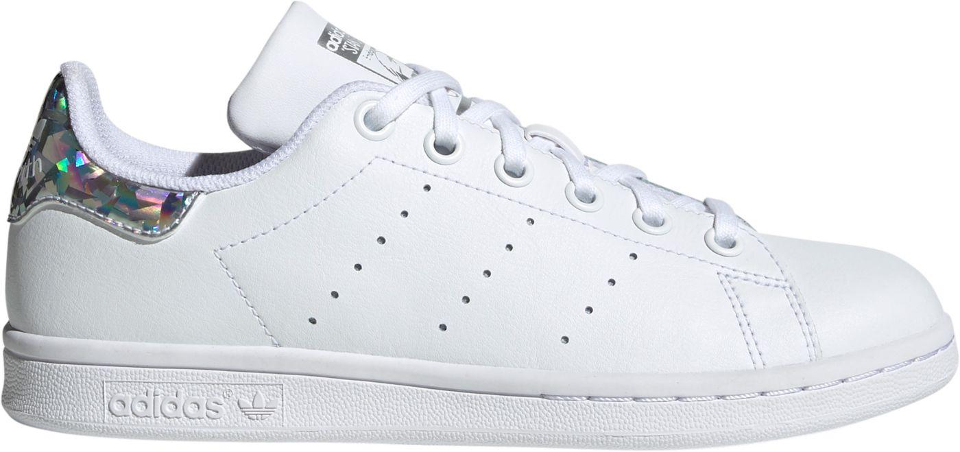 adidas Originals Kids' Grade School Stan Smith Iridescent Shoes