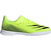 adidas Kids' X Ghosted.3 Indoor Soccer Shoes