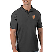 Antigua Men's New York Mets Gray Legacy Polo