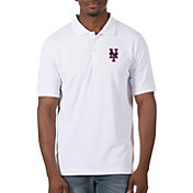 Antigua Men's New York Mets White Legacy Polo