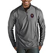 Antigua Men's Chicago Fire Grey Tempo Quarter-Zip Pullover