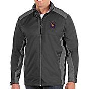 Antigua Men's Chicago Fire Grey Revolve Full-Zip Jacket