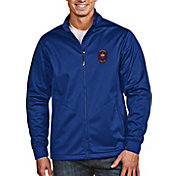 Antigua Men's Chicago Fire Navy Full-Zip Golf Jacket