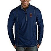 Antigua Men's Chicago Fire Navy Tempo Quarter-Zip Pullover