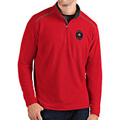 Antigua Men's Chicago Fire Red Glacier Quarter-Zip Pullover