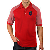 Antigua Men's Chicago Fire Red Engage Polo