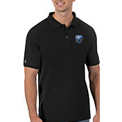 Antigua Men's Montreal Impact Black Legacy Pique Polo