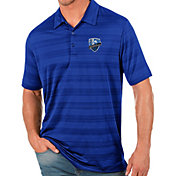 Antigua Men's Montreal Impact Royal Compass Polo