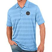 Antigua Men's Philadelphia Union Blue Compass Polo