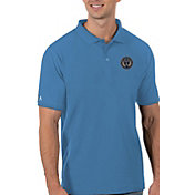 Antigua Men's Philadelphia Union Blue Legacy Pique Polo