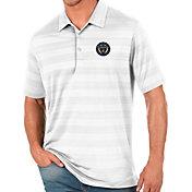 Antigua Men's Philadelphia Union White Compass Polo
