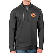 Antigua Men's Auburn Tigers Grey Generation Half-Zip Pullover Shirt