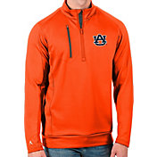 Antigua Men's Auburn Tigers Orange Generation Half-Zip Pullover Shirt
