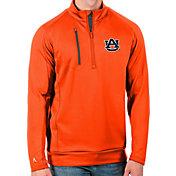 Antigua Men's Auburn Tigers Blue Generation Half-Zip Pullover Shirt