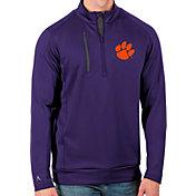 Antigua Men's Clemson Tigers Regalia Generation Half-Zip Pullover Shirt