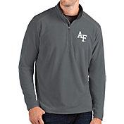 Antigua Men's Air Force Falcons Grey Glacier Quarter-Zip Shirt