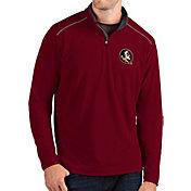 Antigua Men's Florida State Seminoles Garnet Glacier Quarter-Zip Shirt