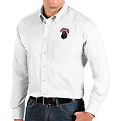Antigua Men's Montana Grizzlies Dynasty Long Sleeve Button-Down White Shirt