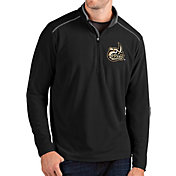 Antigua Men's Charlotte 49ers Glacier Quarter-Zip Black Shirt