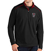 Antigua Men's NC State Wolfpack Glacier Quarter-Zip Black Shirt