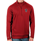 Antigua Men's NC State Wolfpack Red Generation Half-Zip Pullover Shirt