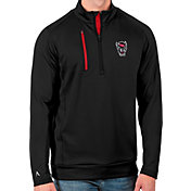 Antigua Men's NC State Wolfpack Black Generation Half-Zip Pullover Shirt