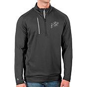 Antigua Men's Navy Midshipmen Grey Generation Half-Zip Pullover Shirt