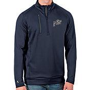 Antigua Men's Navy Midshipmen Navy Generation Half-Zip Pullover Shirt