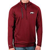 Antigua Men's Arkansas Razorbacks Cardinal Generation Half-Zip Pullover Shirt