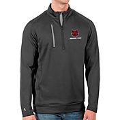 Antigua Men's Arkansas State Red Wolves Grey Generation Half-Zip Pullover Shirt