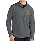 Antigua Men's Tennessee Volunteers Grey Glacier Quarter-Zip Shirt