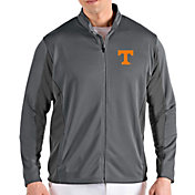 Antigua Men's Tennessee Volunteers Grey Passage Full-Zip Jacket