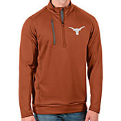 Antigua Men's Texas Longhorns Burnt Orange Generation Half-Zip Pullover Shirt