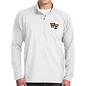 Antigua Men's Wake Forest Demon Deacons Sonar Quarter-Zip White Shirt
