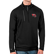 Antigua Men's Western Kentucky Hilltoppers Black Generation Half-Zip Pullover Shirt