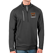 Antigua Men's Western Michigan Broncos Grey Generation Half-Zip Pullover Shirt