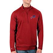 Antigua Men's Buffalo Bills Red Generation Half-Zip Pullover
