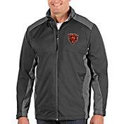 Antigua Men's Chicago Bears Grey Revolve Full-Zip Jacket