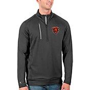Antigua Men's Chicago Bears Grey Generation Half-Zip Pullover