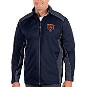 Antigua Men's Chicago Bears Navy Revolve Full-Zip Jacket